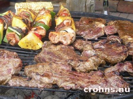 Kött på grillen