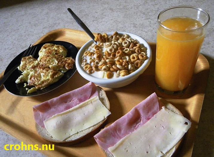 frukost med mycket protein