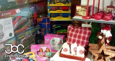 Mycket leksaker som barnen kan önska sig till jul.