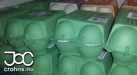 Ägg är något som alltid finns i mitt kylskåp.