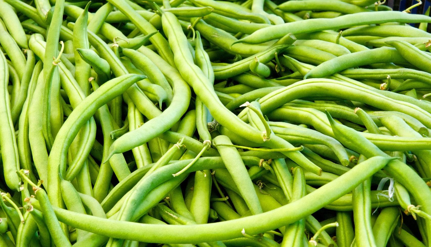 gröna bönor namn